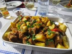 Javali Estufado/ Wild Boar Stew for James and I