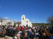 The local square, around which the festival unfolds. It was very well attended.