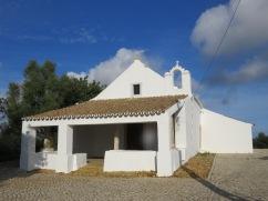 A tiny church, São Sebastião, tucked into the country side on a very small road.
