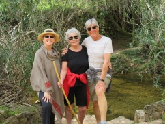 Patricia, Beth, and myself. I love this particular walk and it's perfect for the non hikers in the group.