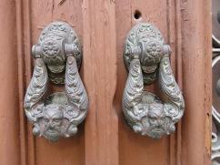 Door knockers are always great photographic material.