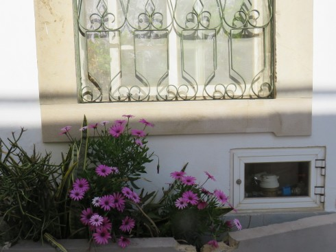 As is common in most small European towns, people take pride in their homes and not matter how small the property, there is always a splash of colour to please the eye.