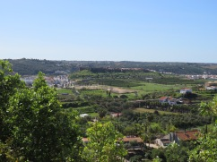 The view back on the castle at Silves.