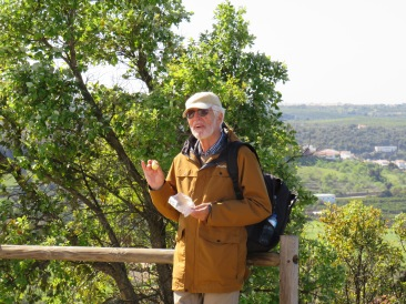 My favourite hiking companion, Harald.