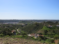 Another shot back on Silves. I loved seeing it all from a completely different perspective.