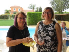 Oneta and Donna, two of my old colleagues from Ottawa. So much fun to have us all together in Portugal.