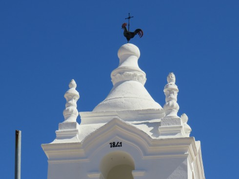 The top of the old church.