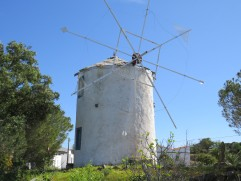 This old windmill was actually working.