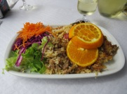 Arroz de pato....duck rice....what an enormous portion and absolutely delicious.